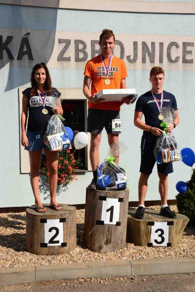 Vítězové na 5 km - muži