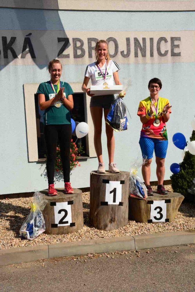 Vítězové na 5 km - ženy