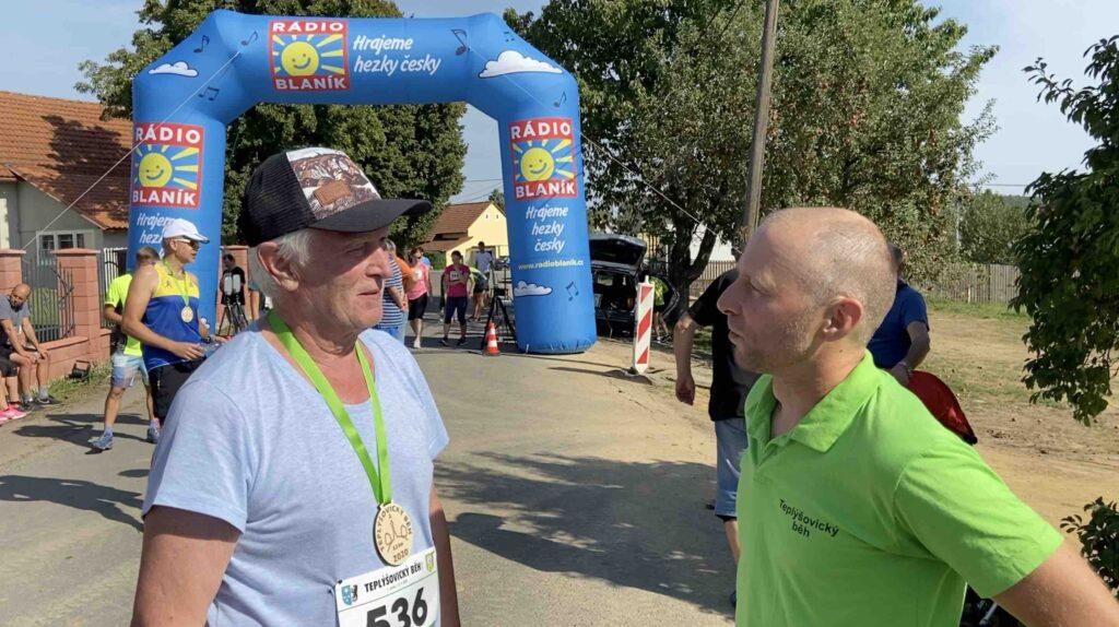 Rozhovor s nejstarším běžcem Josefem RůžičkouRozhovor s nejstarším běžcem Josefem Růžičkou